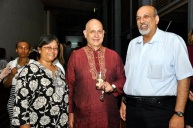 With Quarraisha and Salim Karim of CAPRISA